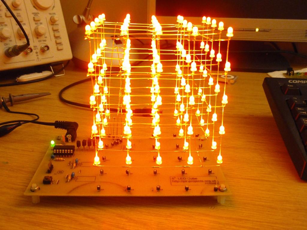 Led Cube Matrix Driver Http Wwwelectronicsprojectdesigncom Ledcircuithtml