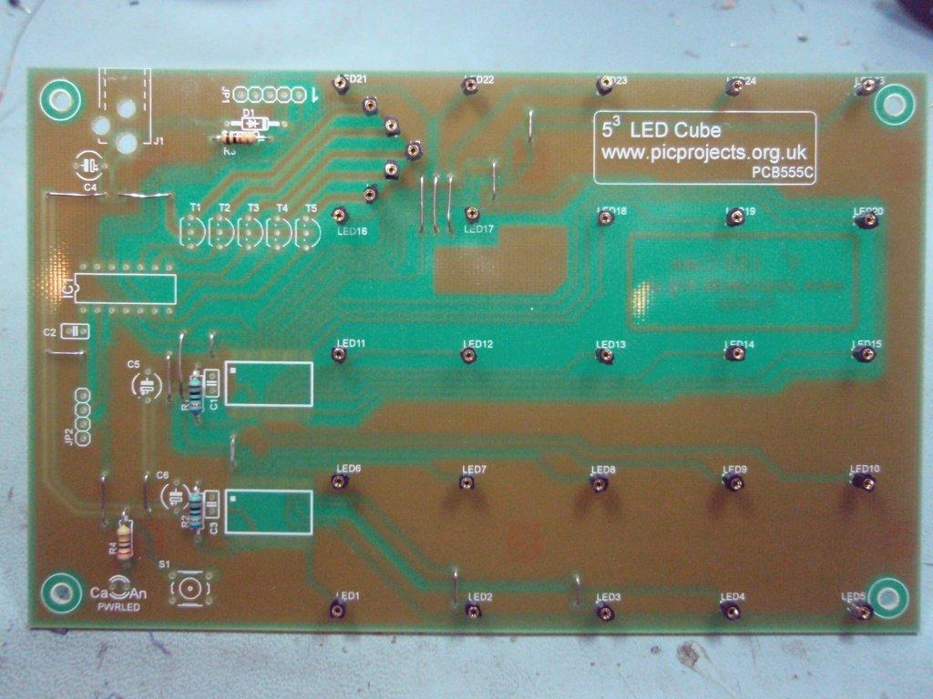 LED Cube Matrix Driver