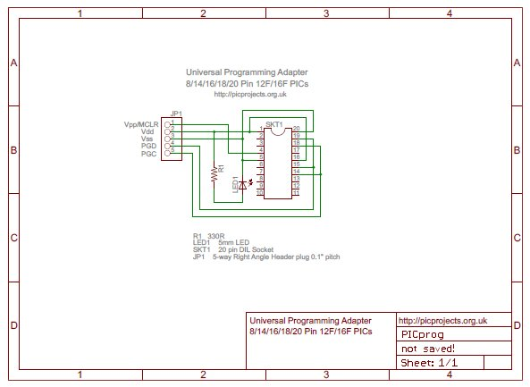 Pic Icsp Programming Schematic